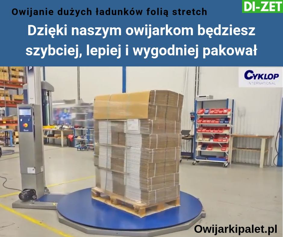 Owijarki do palet Cyklop